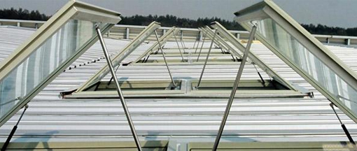 Requirements for smoke exhaust skylight
